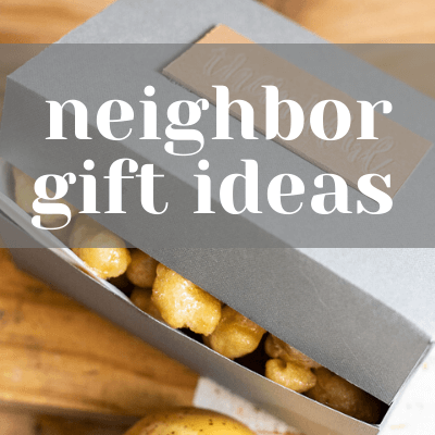 Thankful Neighbor DIY Gift Box Idea Using My Cricut Maker