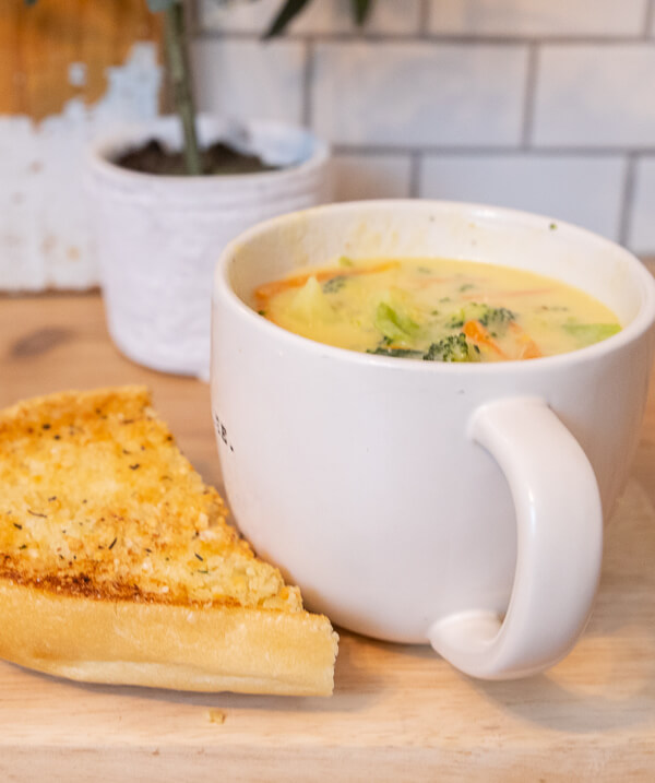 The best broccoli cheese soup recipe you will ever try! Its easy to make, takes no time at all to make, and it so delicious!