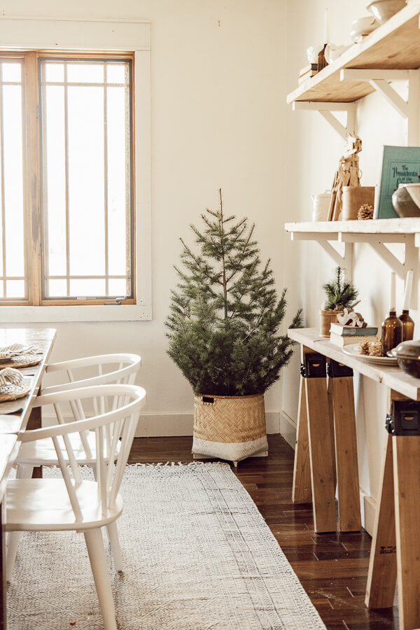 Cozy Christmas dining room ideas