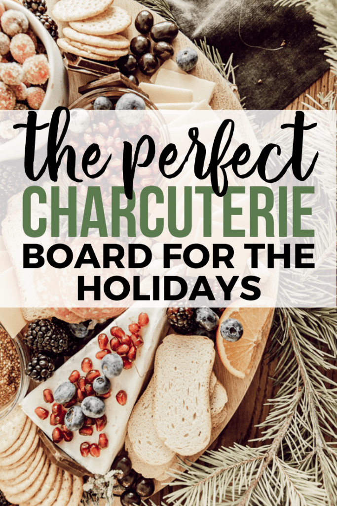 Sweet and savory holiday charcuterie board ideas!  Check these ideas for charcuterie board and take your holidays up a notch!  Use seasonal fruits, pick your favorite meats and cheeses, and add some surprise treats too!