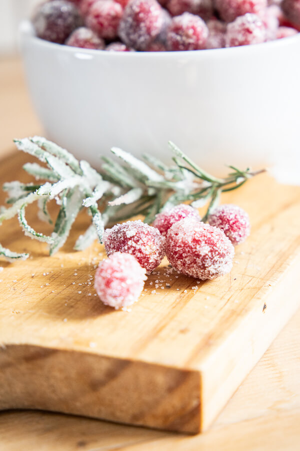 Have you tried sugared rosemary? Its so amazing! See how to make here!