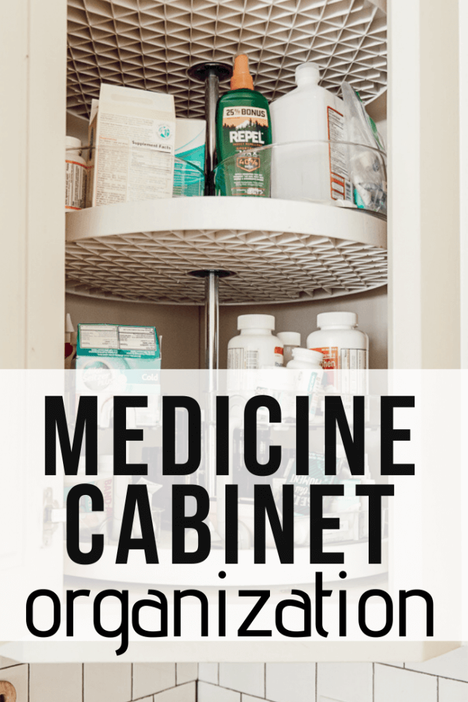 How to organize a medicine cabinet and keep it functioning perfectly for your family.