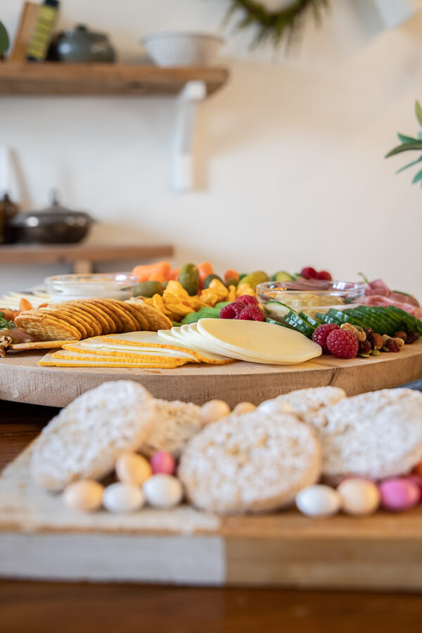 Spring charcuterie board ideas!  Make this for your next brunch or for dinner with your kids!