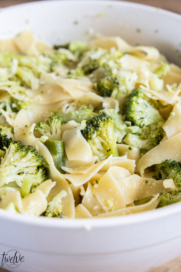 5 ingredient pasta? No way! Yes this is one of our families favorite meals! This broccoli pasta is so easy to make, only uses 5 ingredients and tastes so good!