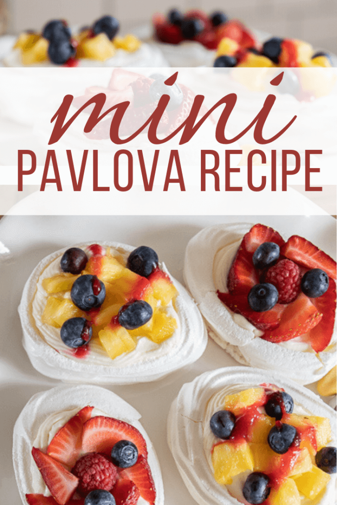 Mini pavlova is such an easy dessert! It is fun to make and so so very delicious! Check out my easy to follow recipe on how to make these little gems.