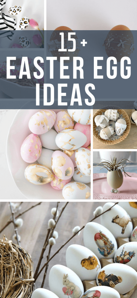 Are you looking for fun Easter egg ideas this year?  Maybe a unique way to decorate Easter eggs?  Make sure to read this post!  Its full of great ideas.