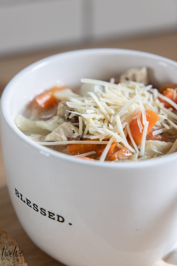 The most flavorful homemade chicken noodle soup recipe ever! Make sure to try this wholesome, flavorful and super easy to make soup!