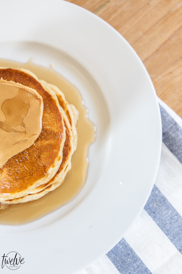 Oh my gosh, these are the most amazing, light and fluffy sourdough pancakes ever! Have you tried sourdough pancakes before? They are so good! You can also get great info on sourdough starters and more!