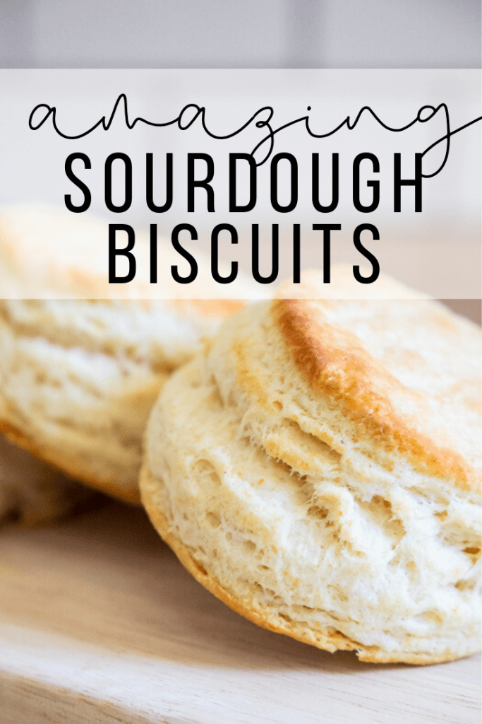 How to make the easiest flakey biscuits using sourdough discards! You can also use this recipe to easily make them without it as well! Very versatile!