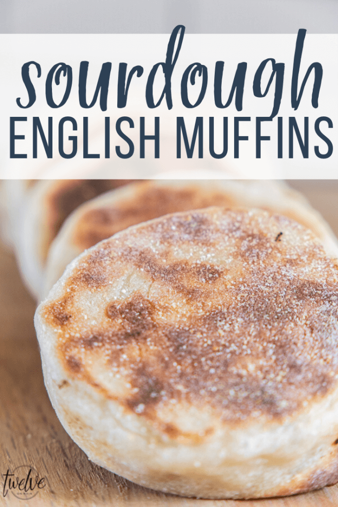 How to make amazing sourdough English muffins that have all the nooks and crannies! These are so easy to make and a skill you will be glad to learn!