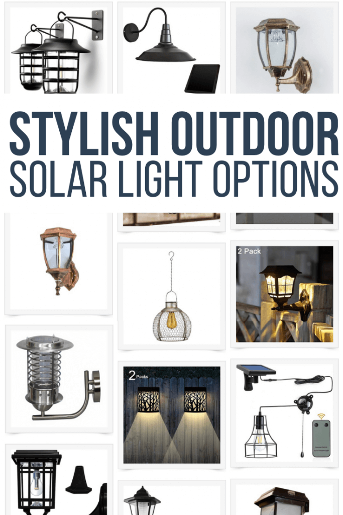 40 amazing outdoor solar light options!  its important to have stylish solar options for outdoors and indoor areas.