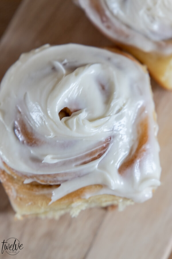 Yummy light and fluffy cinnamon rolls! Make these today, they are so amazing!!