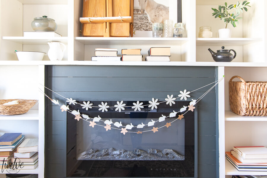 Simple Spring Paper Garland Using The Cricut Maker