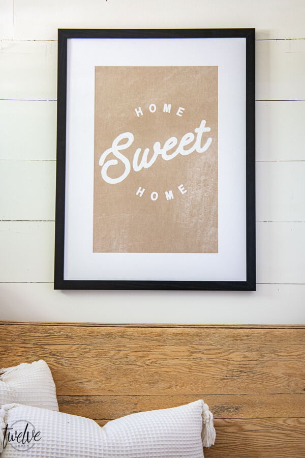 Get the adorable Home Sweet Home printable for FREE!  Click here to find out how to get access to this printable and many others!