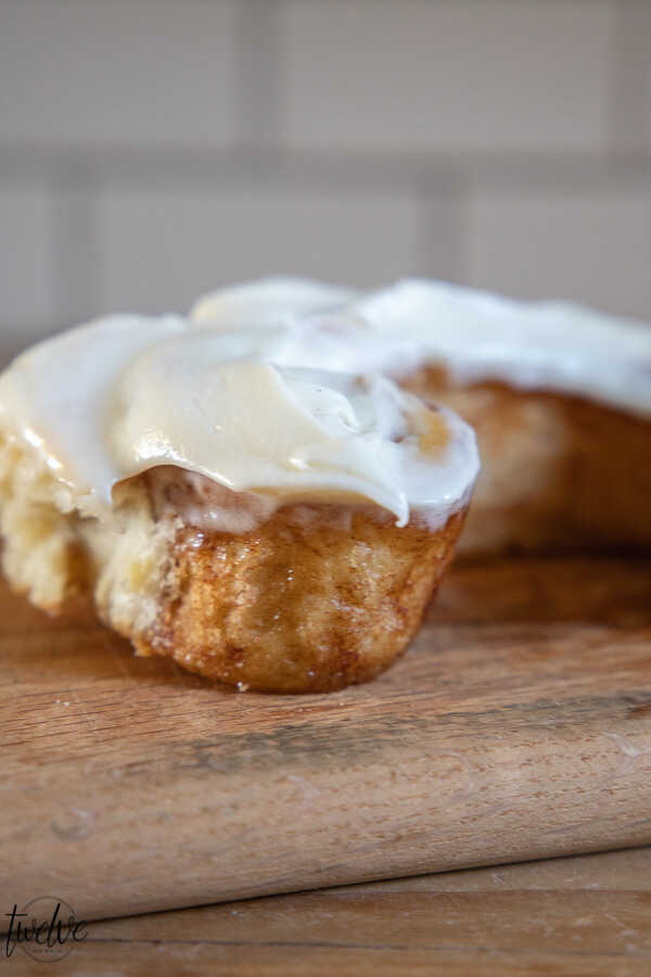 Oh my gosh these sourdough cinnamon rolls are amazing!  They are light and fluffy and take less time to make than traditional sourdough breads.  They are ooey, gooey, soft and fluffy.  Pretty much the perfect treat.