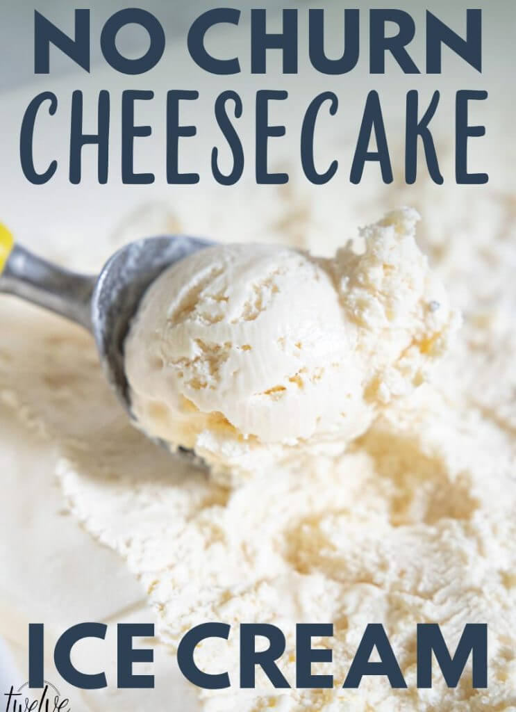 How to make the most creamy and tasty cream cheese ice cream using only 4 ingredients!