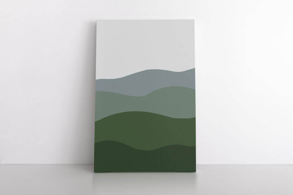Get this gorgeous abstract landscape art printable! This is the perfect piece of art for your home, in your entry, bedroom, or living space! This can be printed up to 40 inches wide without losing quality. It is a great affordable way to add original and unique artwork to you home!