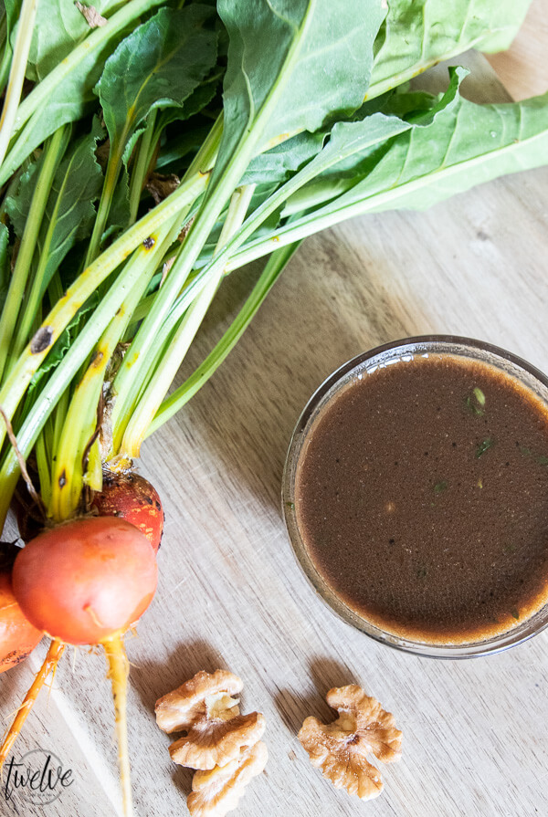 Flavorful and easy to make homemade balsamic vinegar dressing that can be used for salads, dip for bread, and even a marinade for chicken.