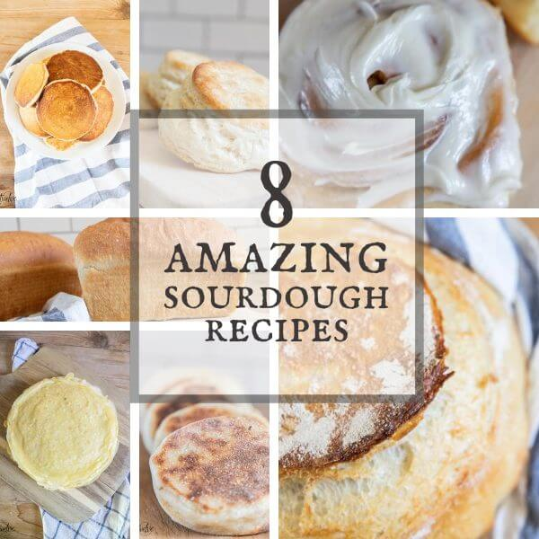 8 Must Have Sourdough Recipes to Start Making Now