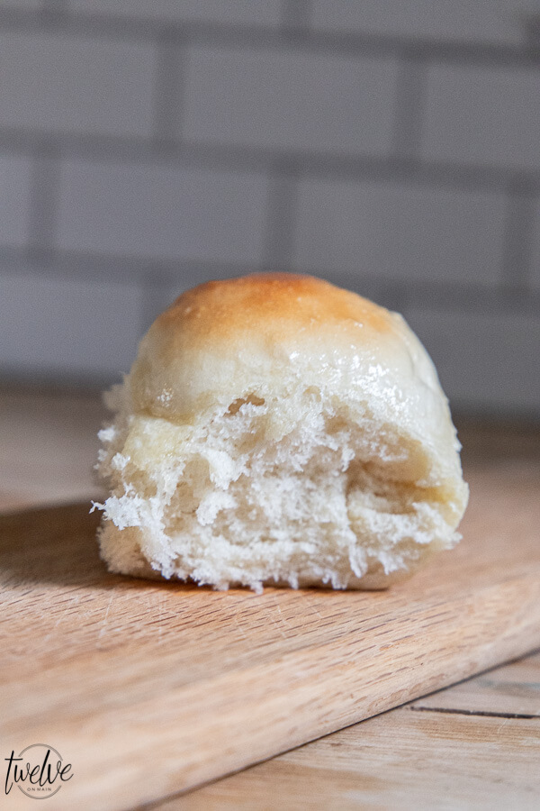 Get my one hour dinner rolls recipe right now! Amazing, buttery soft and easy to make!