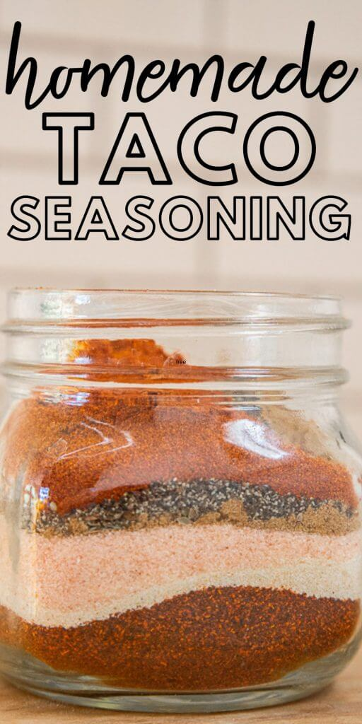 The perfect homemade taco seasoning that has just the right amount of spice and has no preservatives.  This can save you money too!
