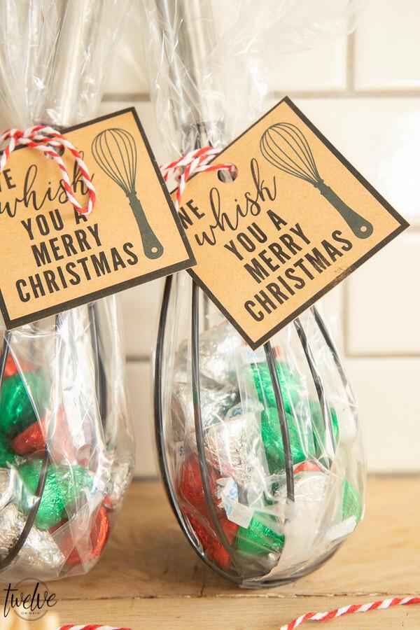 Fun and Creative Neighbor Christmas Gift Ideas with FREE Printable Gift Tags