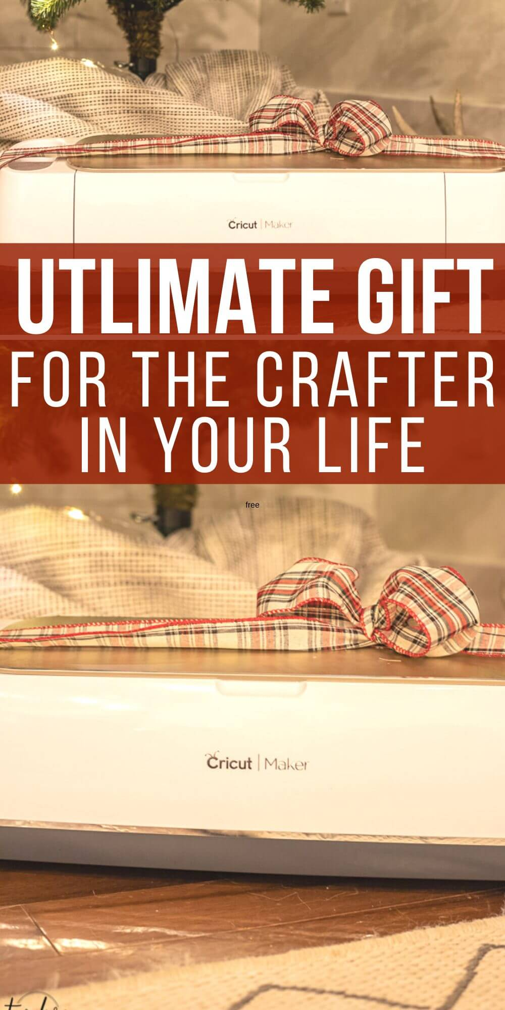 Get the perfect holiday gift for the crafter or DIYer in your life. This is the ultimate gift for someone who loves to create!