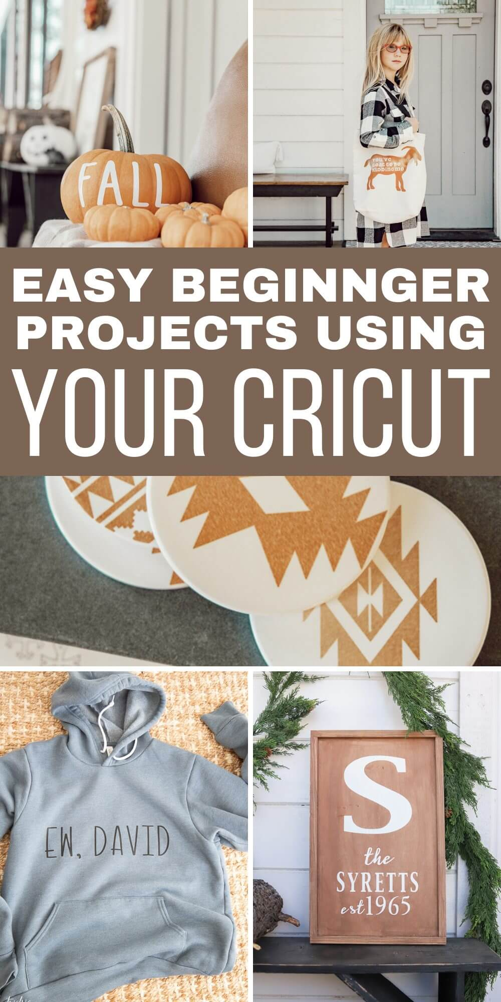 Easy Beginner Project Using Your Cricut Machine