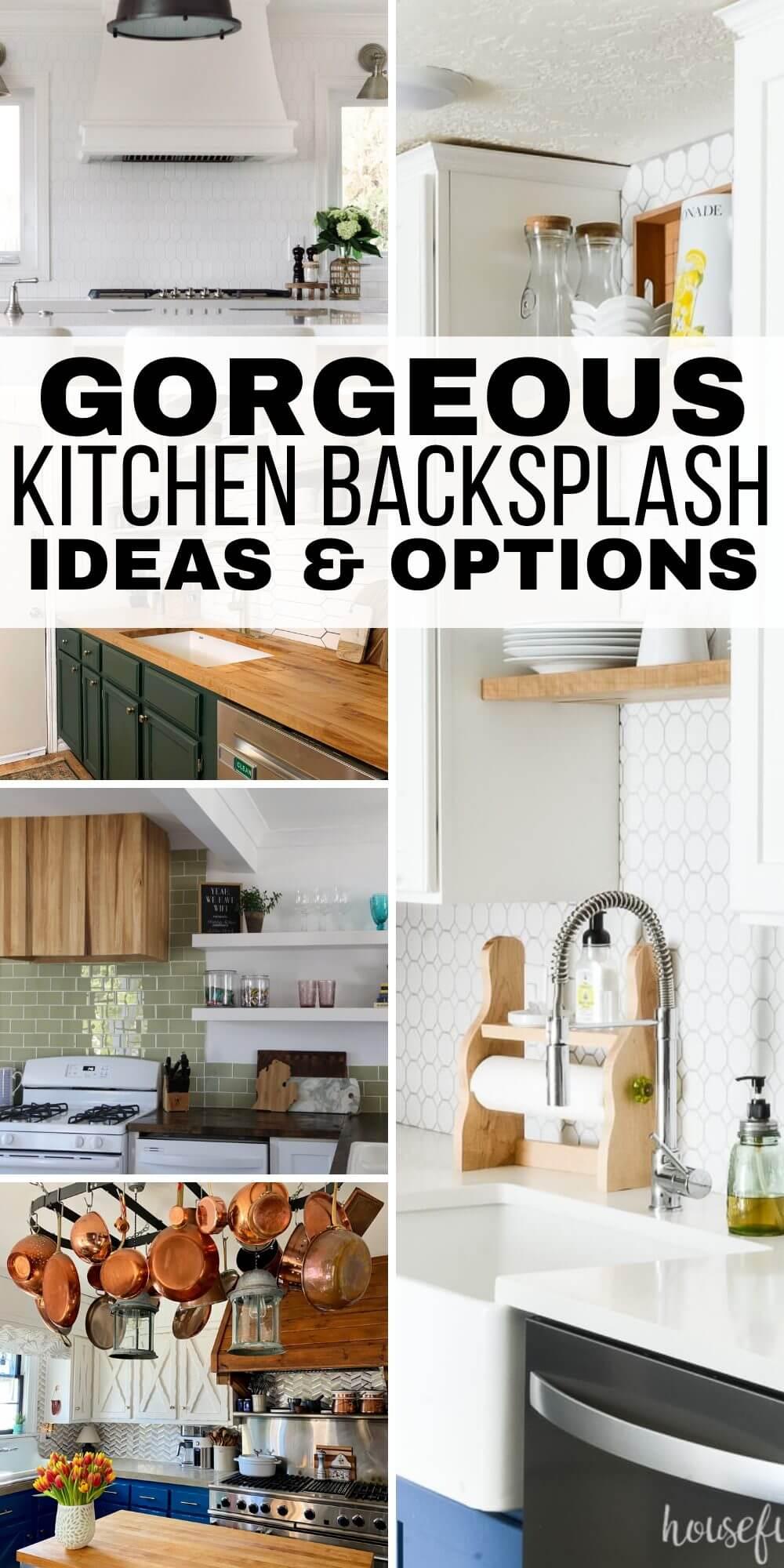Amazing Kitchen Backsplash Ideas