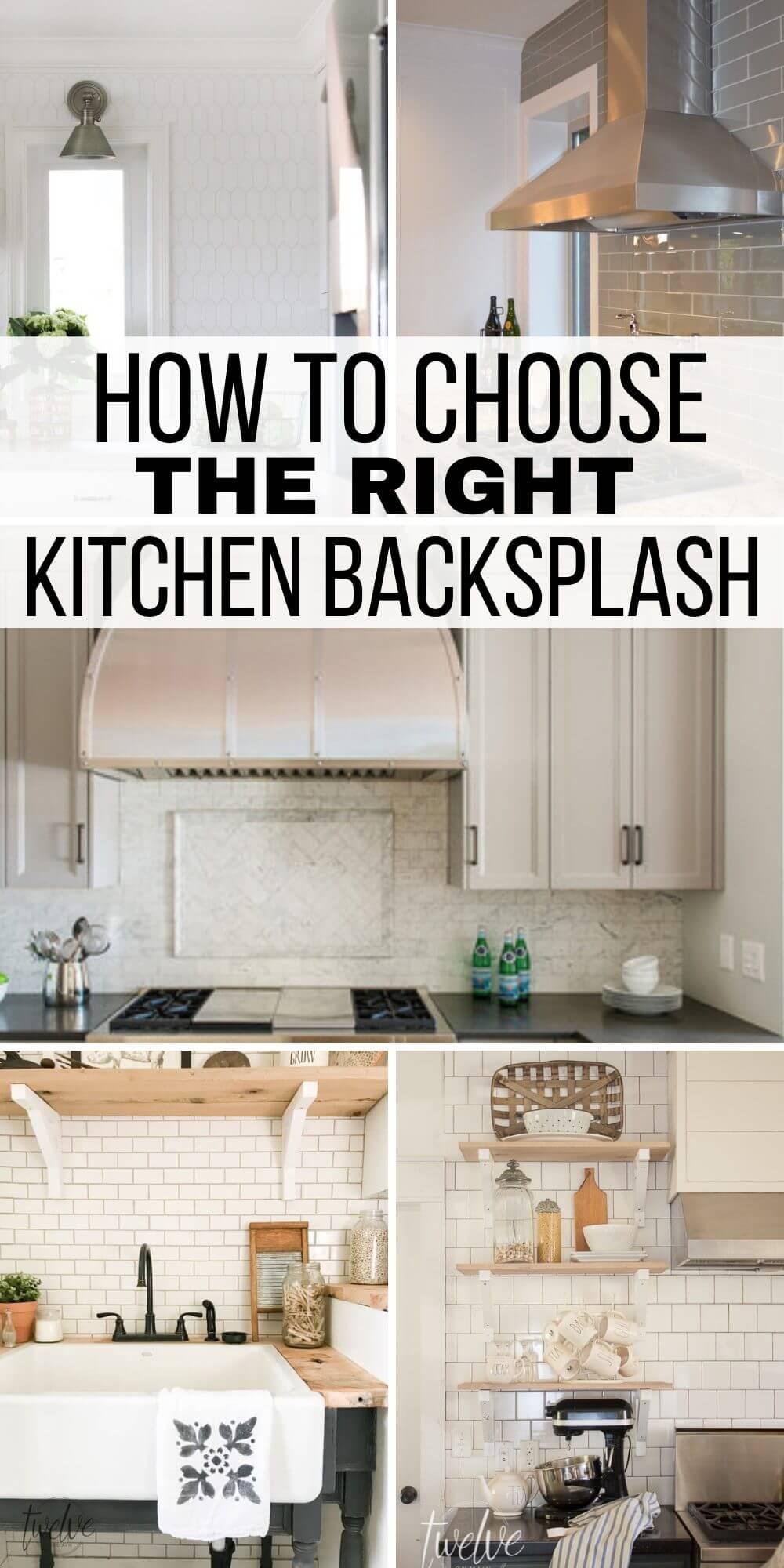 How to Choose a Kitchen Backsplash