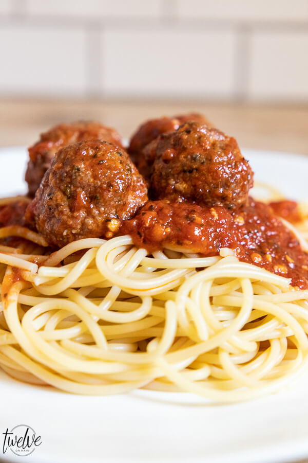 Homemade meatballs are the best!  I have two different easy homemade meatballs recipes and they are super easy and taste amazing.