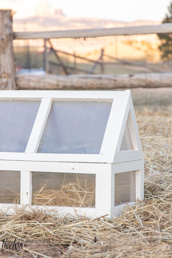 Super Cute DIY Mini Greenhouse Cloches