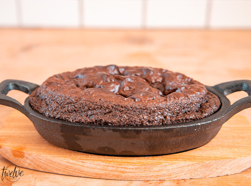 Gluten Free Chocolate Cake Serving for One!