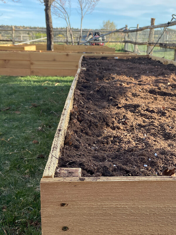 Easy and Inexpensive Wood Raised Planter Boxes for the Garden