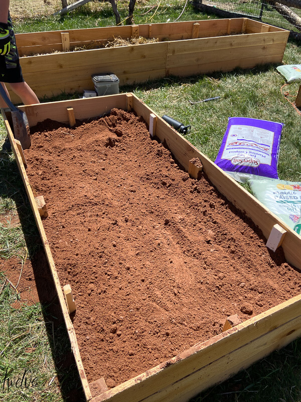 How to make your own affordable rot resistant cedar raised planter boxes to us in your garden, on your patio or other small space.