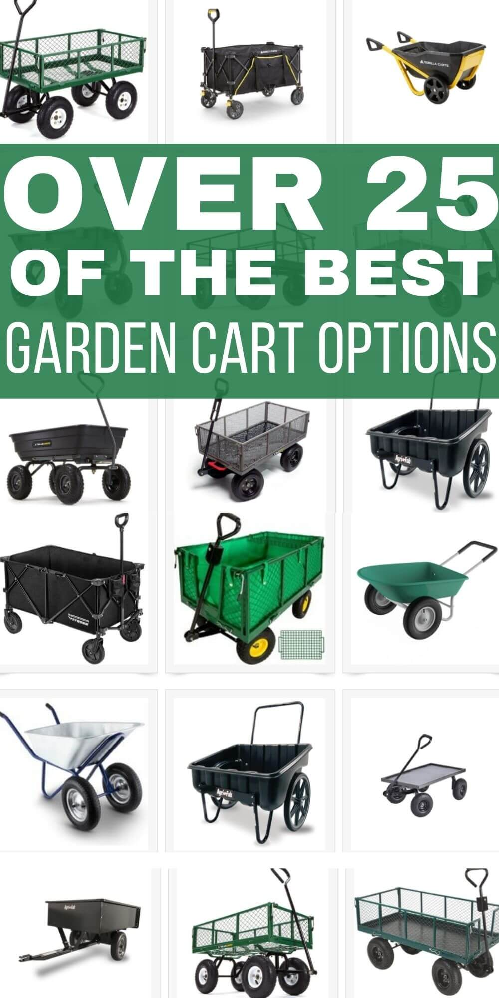 Over 25 of the Best Garden Cart Options for 2021