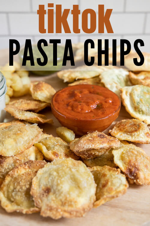 How to make the viral tiktok pasta chips and how to make them into the most amazing charcuterie board too!