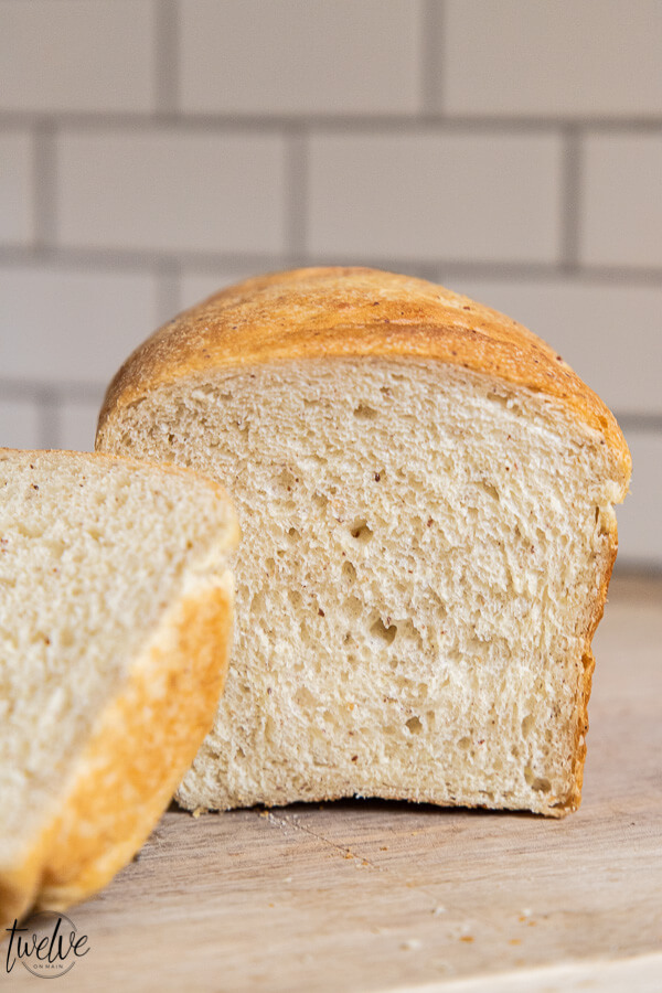 How to use kamut flour to make amazing bread! This is an easy to follow recipe that makes a more healthy version of bread. Kamut grain is an ancient grain and has so many health benefits, is easier to digest and so much more.
