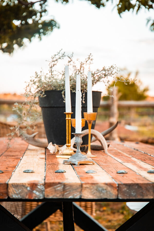 Outdoor centerpiece ideas that are easy and effortlessly stylish