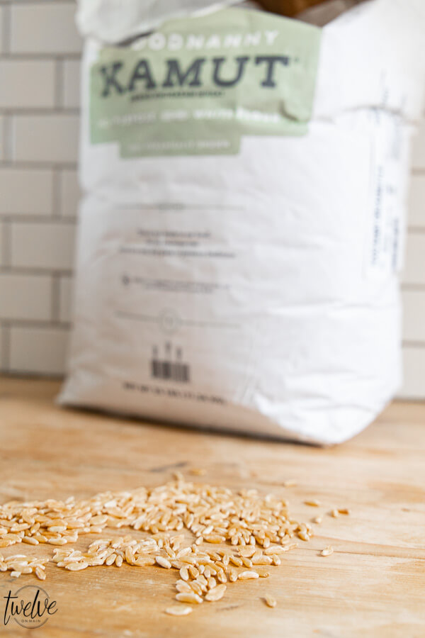 What is kamut flour and is it worth the hype? I am breaking down all the benefits of this amazing little grain and what you can do with it.