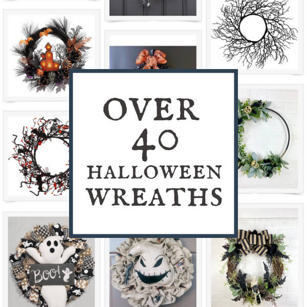 Over 50 Spooky and Stylish Halloween Wreaths