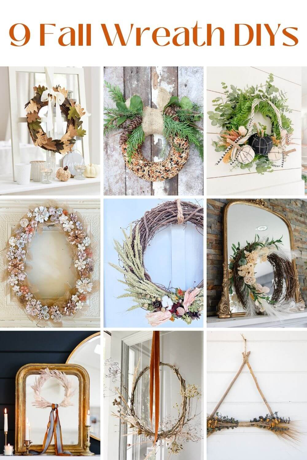 9 gorgeous DIY fall wreaths to make today!